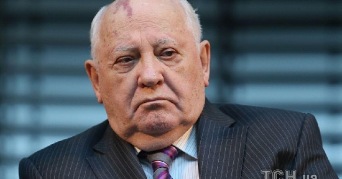 Горбачов визнав за відповідальність за розпад СРСР