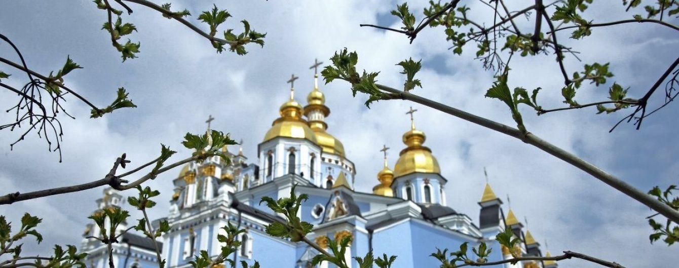 Киевсовет выделил 100 тысяч гривен на строительство паркинга под Михайловским собором