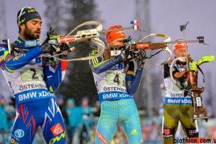Сборная Украины стала четвертой в первой гонке чемпионата мира по биатлону