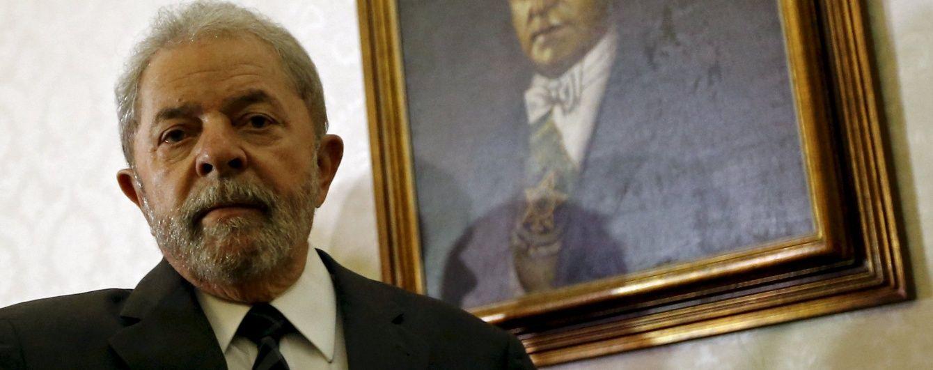 Колишнього президента Бразилії ув'язнять на 12 років через корупцію