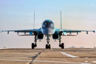 В России в воздухе столкнулись два военных истребителя