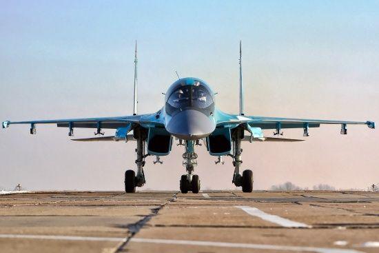 Два російських винищувачі зіткнулися у повітрі