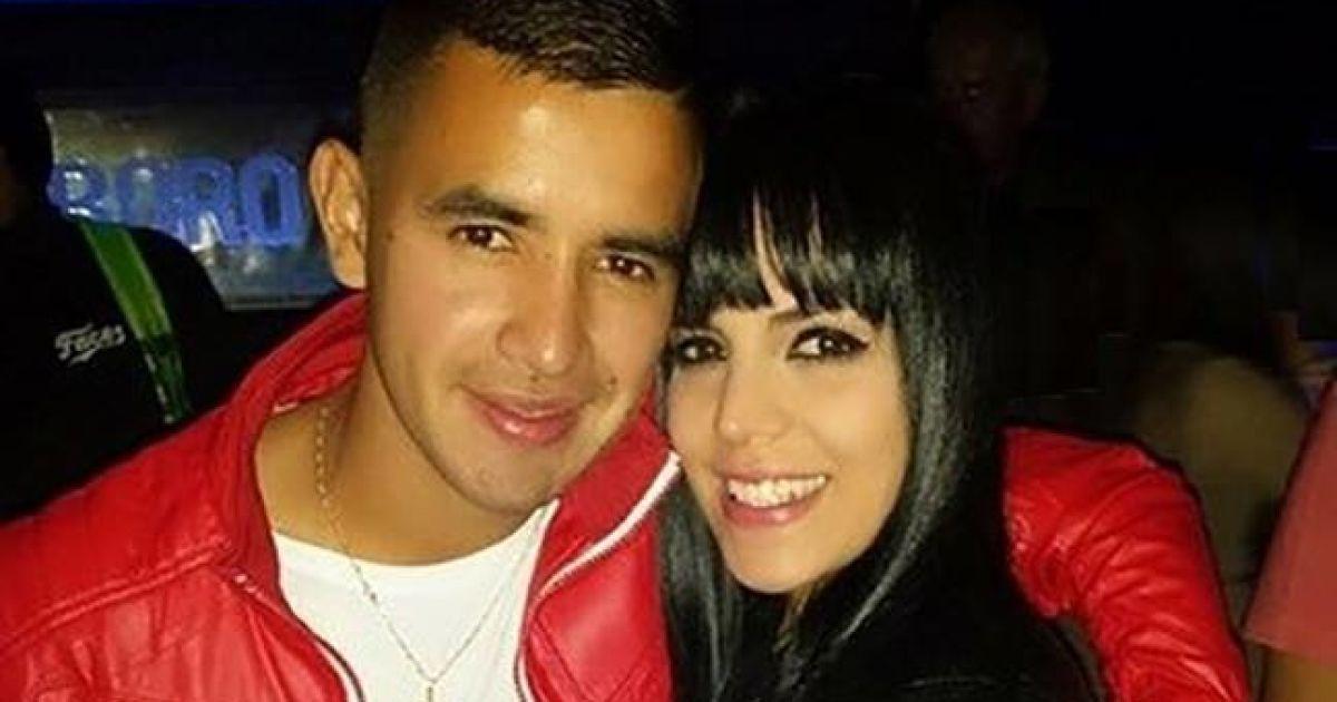 Дерліс Гонсалес з дружиною Карімі. @ facebook.com/fcdynamoua