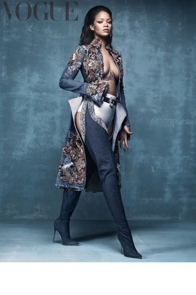Ріанна Vogue 2