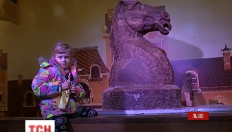 Шоколадный конь появился во Львове