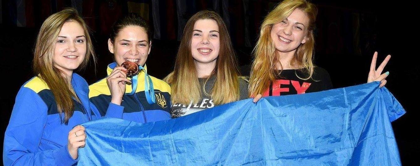 """Українка виграла """"бронзу"""" чемпіонату Європи з фехтування серед юніорів"""