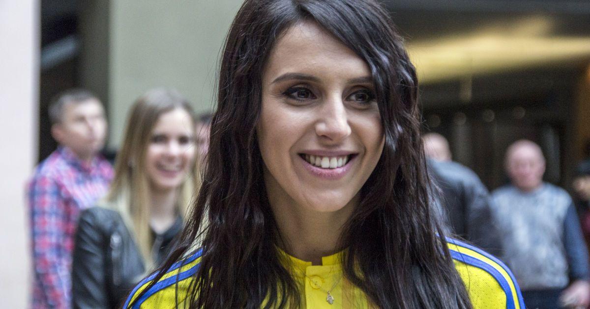 Джамала - одна із амбасадорів збірної на Євро-2016.   Фото - Надія Мельниченко