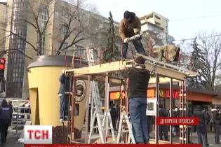 В Днепропетровске придумали, как заставить незаконные киоски работать по-честному