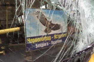 Кількість постраждалих унаслідок лобової ДТП автобусів на Львівщині зросла