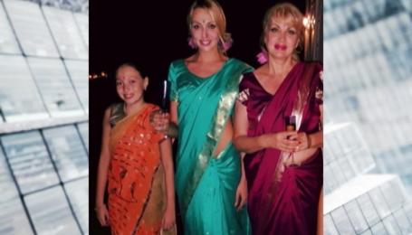 Ольга Полякова отметила день рождения на Шри-Ланке