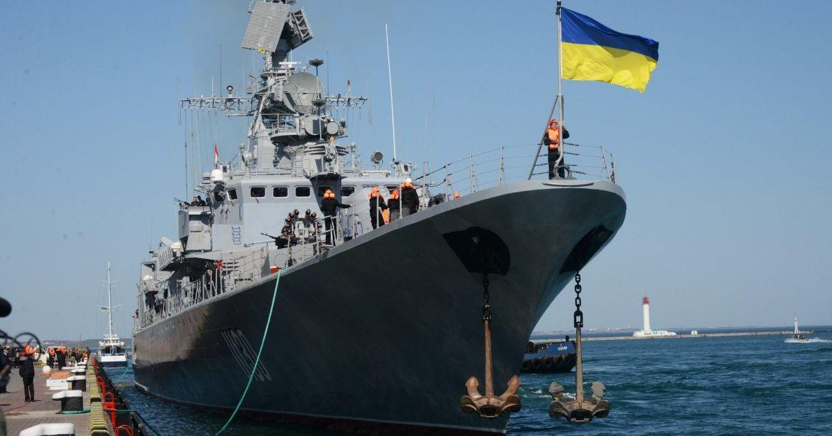 """""""Гетман Сагайдачный"""" и другие боевые корабли ВМС вернулись на базы"""