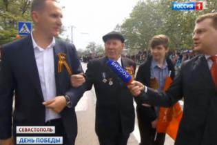 Скандальный глава полиции Винницкой области принимал участие в параде в Севастополе во главе с Путиным