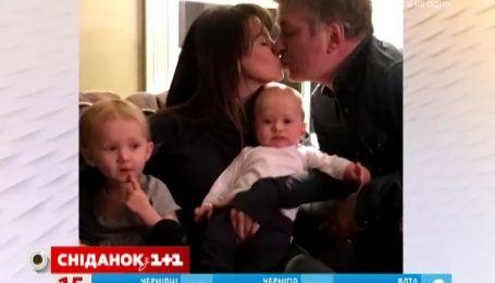 Алек Болдвін та його дружина Хіларія сперечаються щодо імені майбутнього сина