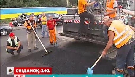 На ремонт українських доріг виділили понад 6 мільярдів гривень