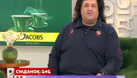 В гостях в «Сніданку» Иво Бобул