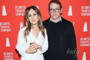 На Бродвее: Сара Джессика Паркер сходила с мужем на спектакль
