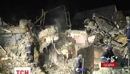 Ночью в обломках взорвавшегося дома в Одесской области нашли тело шестилетнего Богдана