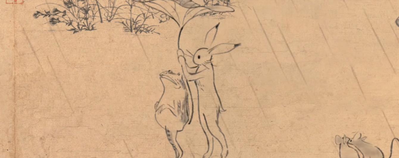 """Легендарна анімаційна студія """"оживила"""" найдавніший японський комікс"""