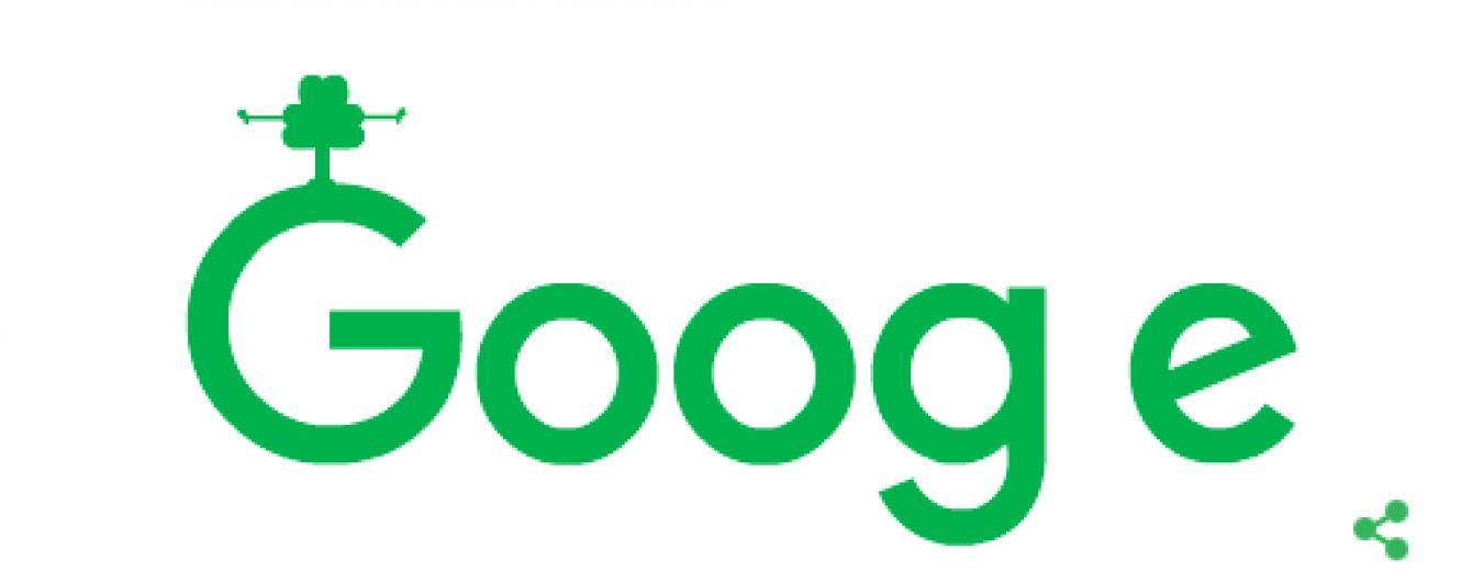 """Google """"зазеленів"""" конюшиною на честь дня святого Патрика"""