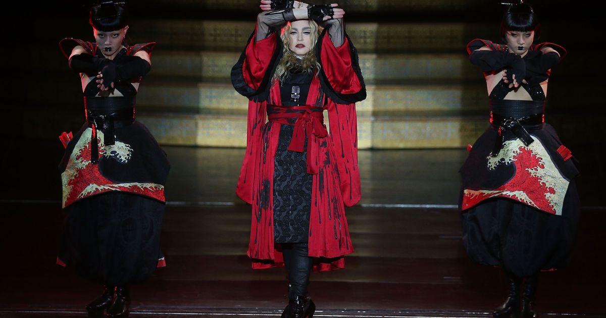 Мадонна співала перед напівпорожньою залою @ Getty Images