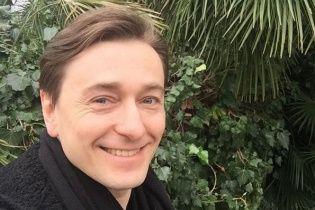 Сергій Безруков поділився світлиною з першої прогулянки новонародженого синочка