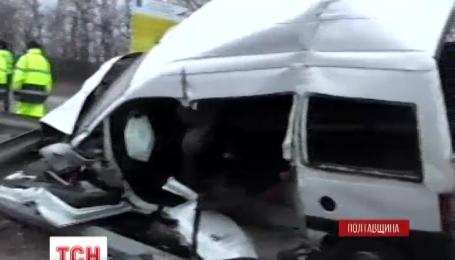 Під Полтавою у ДТП загинули троє людей