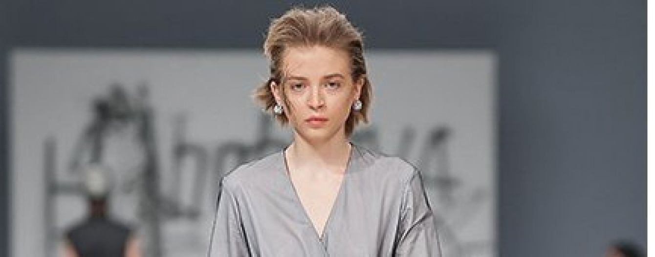 UFW: платья-кимоно и прозрачные топы в коллекции Кристины Бобковой