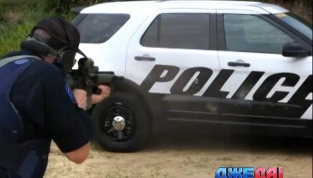 Американские копы теперь будут ездить на пуленепробиваемых авто