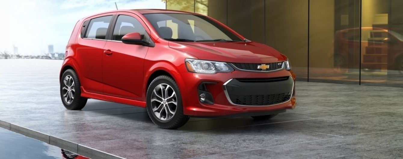 Chevrolet рассекретил обновленный Aveo