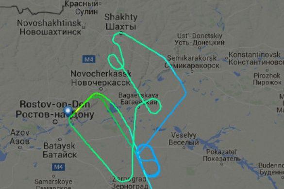 Стало известно, что разбившийся в РФ Boeing 737-800 пытался приземлиться в течение двух часов