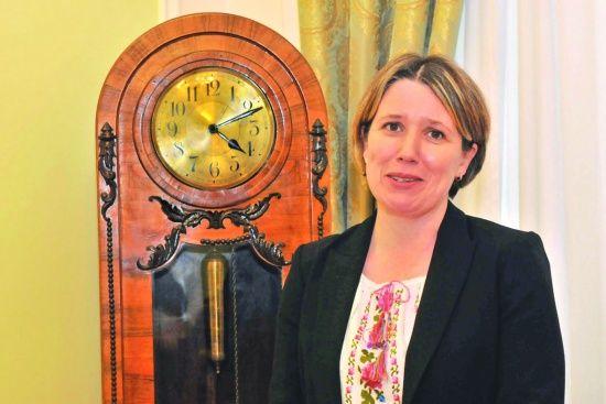 Посол Великої Британії Джудіт Гоф подякувала українцям і пообіцяла повернутись