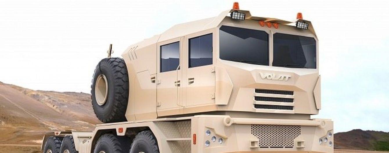 В Беларуси разработали новый армейский тяжелый тягач
