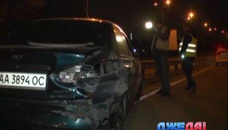 Пьяный водитель Lanos чуть не покончил с собой на столичной дороге