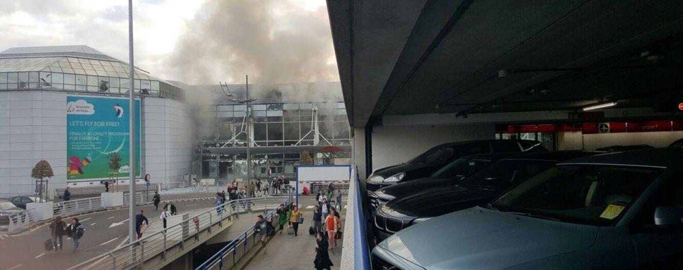 Подвійний вибух в аеропорту Брюсселя: летовище евакуюють