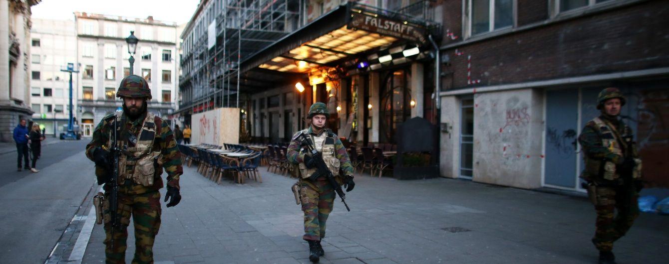 У Брюсселі затримали шістьох людей під час антитерористичного рейду