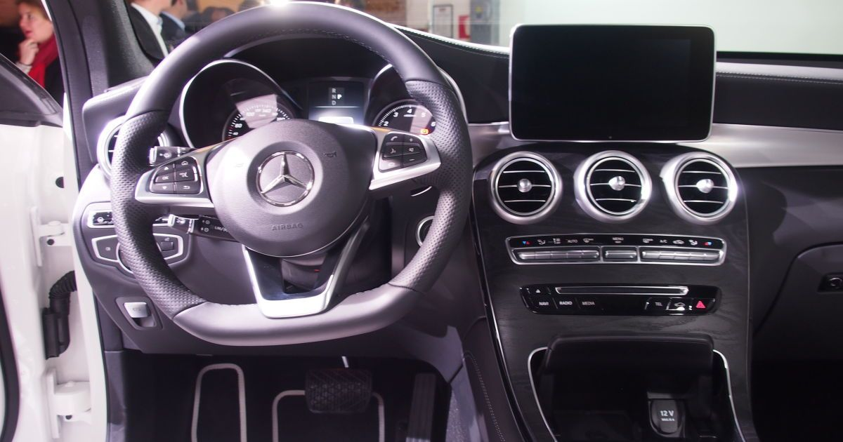 Mercedes-Benz GLC Coupe @ autoblog.com