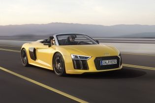 Audi представила открытую модификацию R8 Spyder