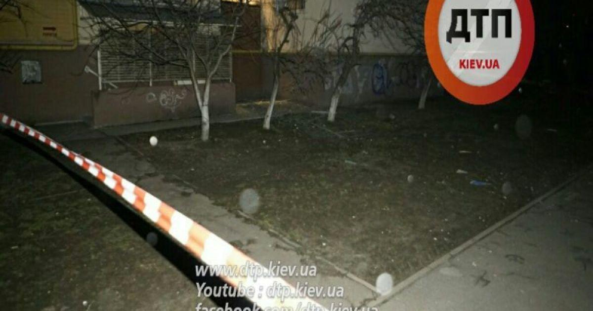 В полиции рассказали о взрыве в Соломенском районе Киева