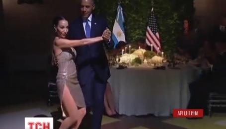 Барак Обама станцевал танго во время визита в Аргентину