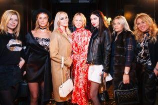 Как жены украинских футболистов погуляли на Ukrainian Fashion Week