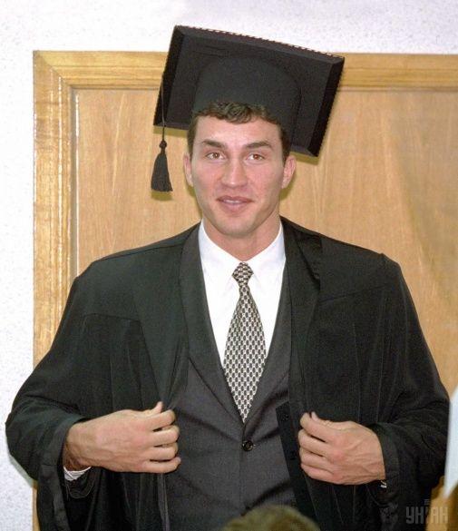 Володимир Кличко вчений