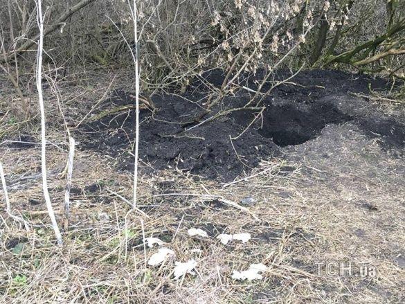 Фото місця, де знайшли труп Юрія Грабовського_1