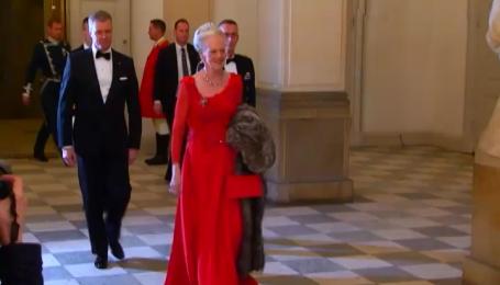 Современная европейская аристократия на балу у королевы Дании