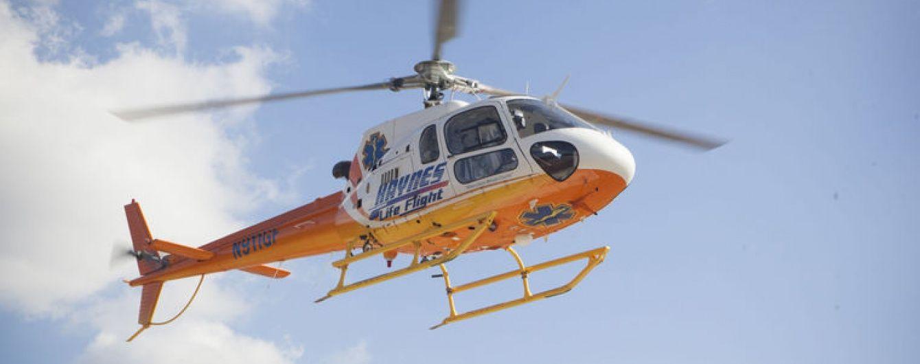 У США у страшній аварії розбився медичний гелікоптер