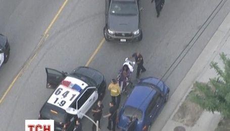 Поліцейські в Каліфорнії затримали жінку, що викрала авто