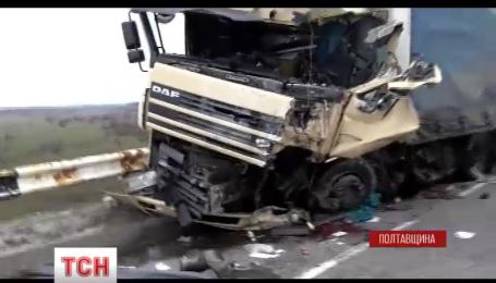 На Полтавщині в ДТП загинуло 8 людей