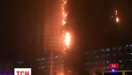 Произошел пожар в одном из небоскребов ОАЭ