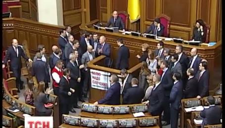 Парламент проголосовал за отставку Шокина