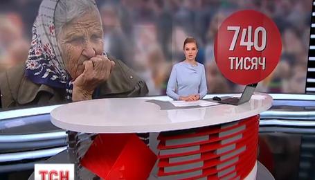 В Україні нарахували 740 тисяч самотніх літніх людей