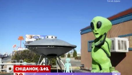 Американские подростки украли летающую тарелку из музея